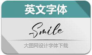 Smile(英文字体)