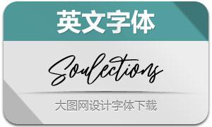 Soulections(英文字体)