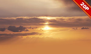 后期合成适用天空云彩高清图片V50